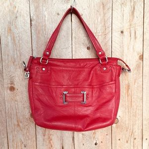 Stone Mountain Red genuine Leather Purse
